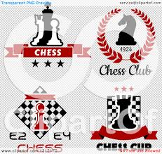 Chess Piece Designs by Clipart Of Chess Piece Designs With Text Royalty Free Vector