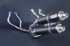 set pipe twin stack system carbon silencers tyga performance