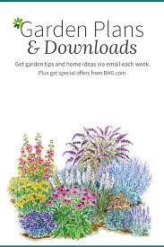 Planning A Garden Layout Free Free Flower Garden Plans Gardening Pinterest Flower Garden