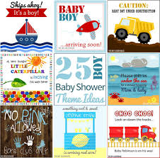ideas for a boy baby shower 25 boy baby shower theme ideas the diy lighthouse