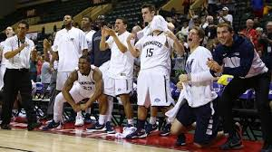 basketball bench celebrations monmouth hoops famous for its bench but built to contend in maac