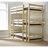 3 Level Bunk Bed 3 Level Bunk Bed 90 X 190 Cm Metal Silver 99x200x204 Amazon