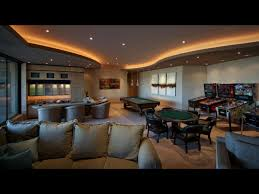 real life home design games a luxe desert mansion houses this extravagant game room which