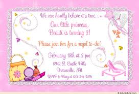 glass slipper birthday invitation princess pampering party