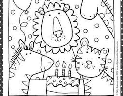 printable birthday cards to color best 25 printable happy birthday