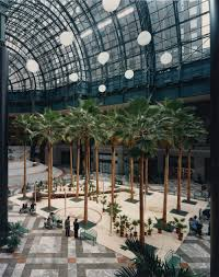 the winter garden at the world financial center u2014 balmori associates