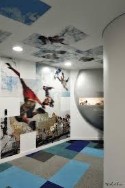 si e social bouygues oeuvre murale photographique exclusive sur mesure siège social