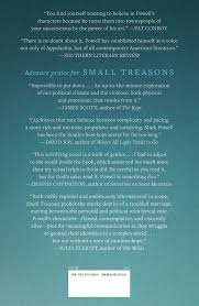 small treasons book by mark powell official publisher page