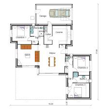 maison 3 chambres plain pied plan maison de plain pied 3 chambres 6 maison 3 chambres r233f