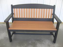 benches for patio and lawn furniture maintenance free