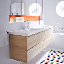 ikea godmorgon wall cabinet like the recessed wall to fit a medicine cabinet above like the