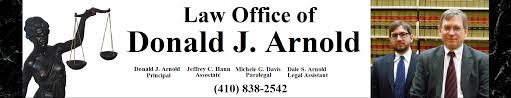 law office of donald j arnold child support bel air harford county