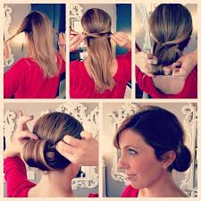 easy 1920s hairstyles easy step by step updo diy hairstyle alldaychic
