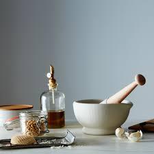 vitrified porcelain mortar u0026 pestle on food52
