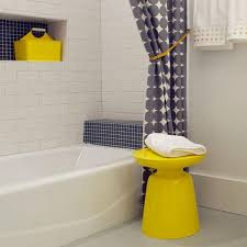 yellow gray bathroom accessories thedancingparent com