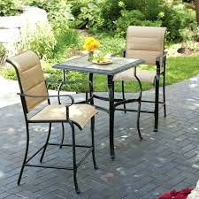 small patio table with chairs small outdoor bistro table infosecmedia org