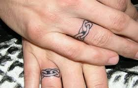 Christian Ring Tattoos Wedding Ring Tattoos