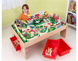 kidkraft train table compatible with thomas kidkraft canada quality kidkraft train tables train sets in canada