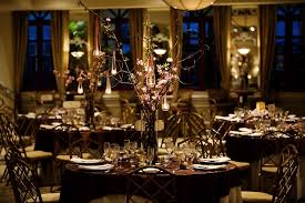 brown wedding reception decorations wedding decorations
