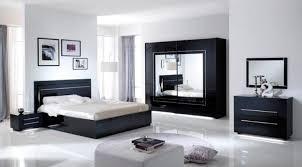le de chevet chambre chevet 1 tiroir city laque noir chambre à coucher