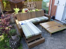 cushions for pallet patio furniture pallet bench with cushion