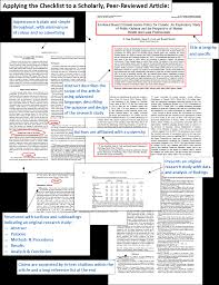 how to write an article critique paper how to identify a scholarly peer reviewed journal article how article structured into sections indicating a research study with headings such as introduction purpose or objective research methods or design