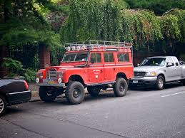 land rover lifted the street peep 1975 land rover series iii