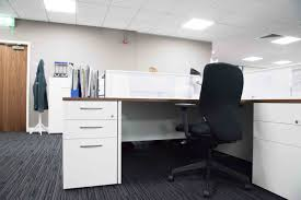 Boss Reception Desk by Taylor Wimpey Leicester Office Uk
