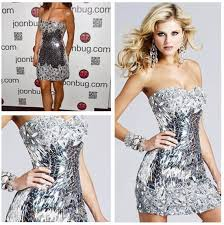 party dresses new years aliexpress buy free shipping 2013 sequins silver