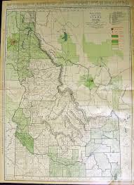 Map Of Idaho Cities Prints Old U0026 Rare Idaho Page