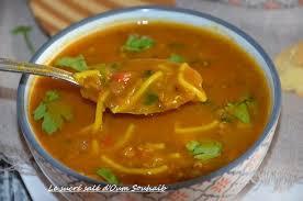 cuisiner sans viande harira marocaine vermicelle aux lentilles recette sans viande le