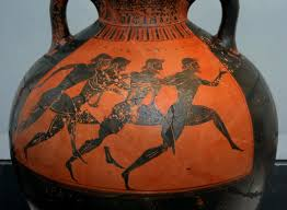 Greek Vase Images File Greek Vase With Runners At The Panathenaic Games 530 Bc Jpg