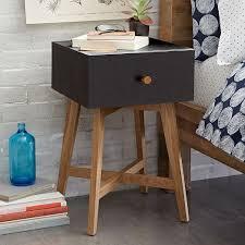 tall storage nightstand black west elm