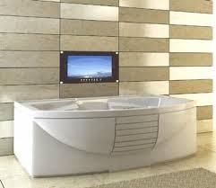 Tv In Mirror Bathroom by Luxurite U0027s Wireless Bathroom Friendly Tv Waterproof U0026 Mirror