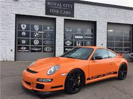 porsche gt3 price canada 2007 porsche 911 gt3 rs canadian car guelph 179 995