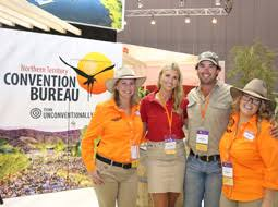 nt convention bureau outback wrangler to up more business events to the nt