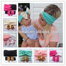 baby hairbands newest baby large bow turban headband headwraps and