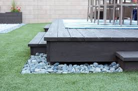Simple Backyard Landscape Ideas How To Build A Floating Deck The Home Depot Floating Deck