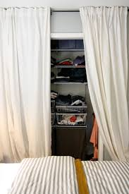 Closet Curtain This Is How It Goes Using Curtains For Closet Doors Curtains