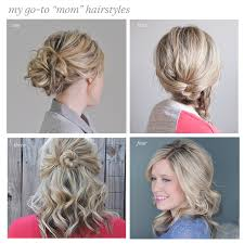 on the go hairstyles my go to casual hairstyles the small things blog