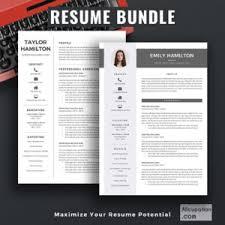 Best Modern Resume Best Selling Resume Bundle Product Categories Allcupation