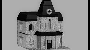 how to build a lego house model1 lego psycho house tutorial