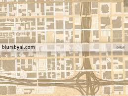Map Of Chicago Il by Printable Map Of Chicago Illinois En Vintage Sepia Style U2013 Blursbyai