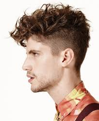 Undercut Hairstyle Men Back by Curly Undercut Hairstyle Latest Men Haircuts