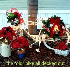 vintage bike yard decor my amazing relatives