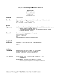 Sample Resume For Lab Technician by Sample Resume Maintenance Technician