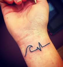heartbeat tattoo on wrist meaning 1000 geometric tattoos ideas