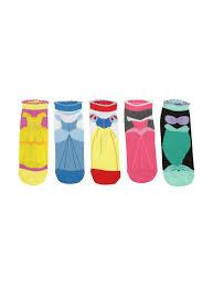 disney princess dress no show socks 5 pair topic