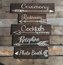 rustic wedding signs best 25 rustic wedding signs ideas on