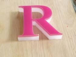 acrylic 3d letter in bengaluru karnataka manufacturers